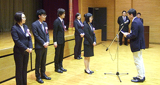 卒業・入学を祝う会